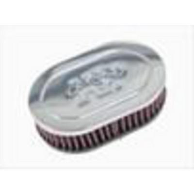 K&N Filter Universal Chrome Air Filter - RC-2000