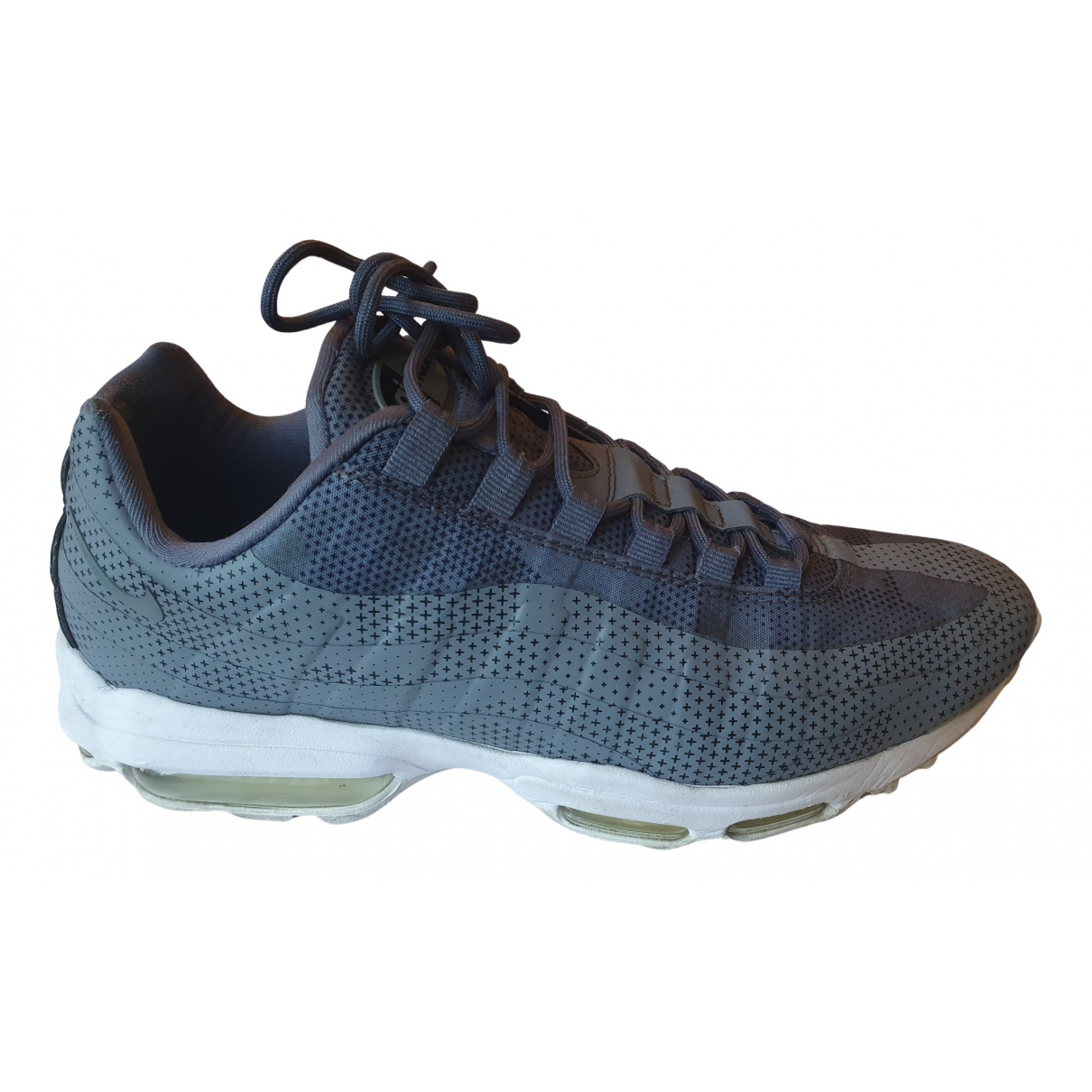 Nike Air Max 95 Sneakers in  Grau Leinen