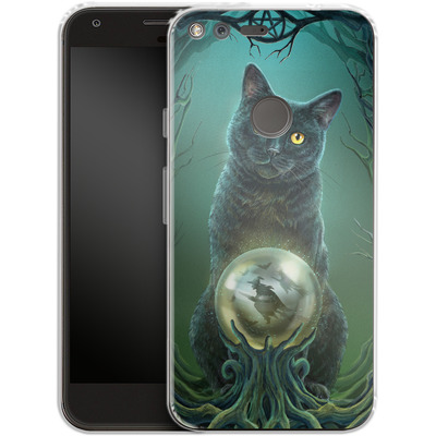 Google Pixel XL Silikon Handyhuelle - Rise of the Witches von Lisa Parker