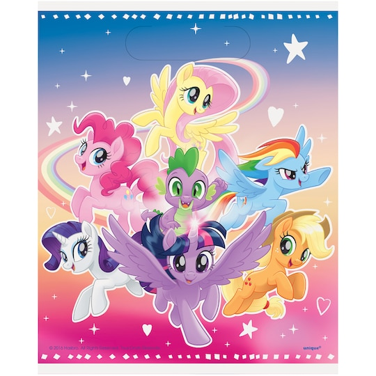 My Little Pony Goodie Bags, 8Ct By Unique   Michaels®