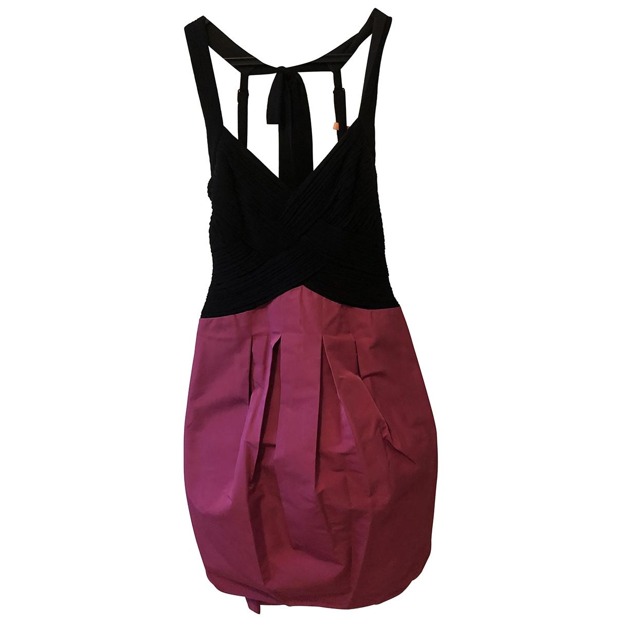 Bcbg Max Azria - Robe   pour femme en coton - noir