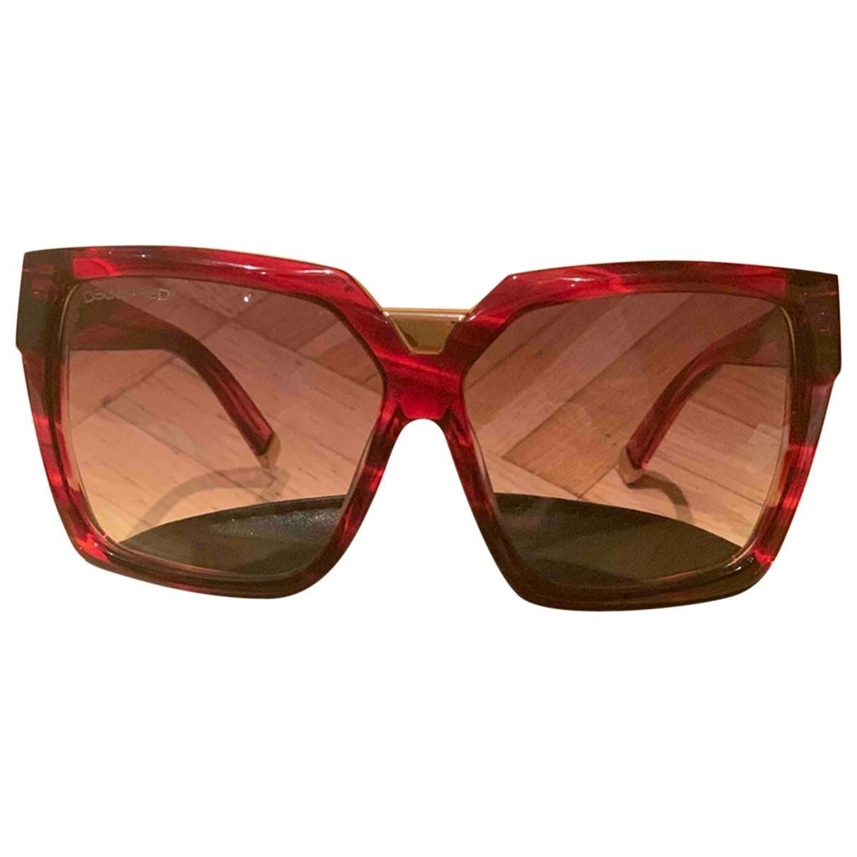 Dsquared2 \N Burgundy Sunglasses for Women \N