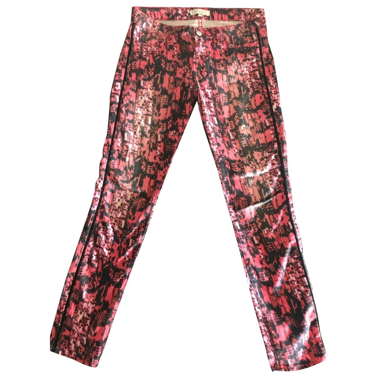 Iro - Pantalon   pour femme en coton - multicolore