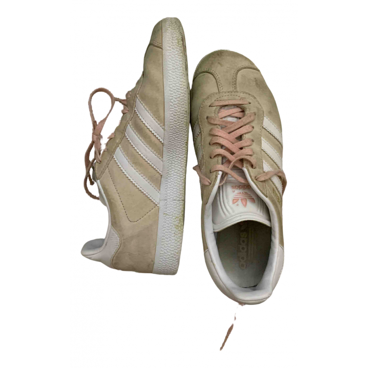 Adidas Gazelle Pink Suede Trainers for Women 36.5 IT