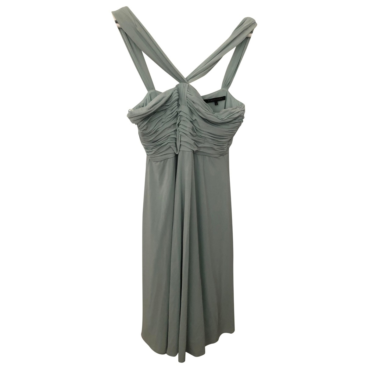 Bcbg Max Azria \N Kleid in  Tuerkis Polyester