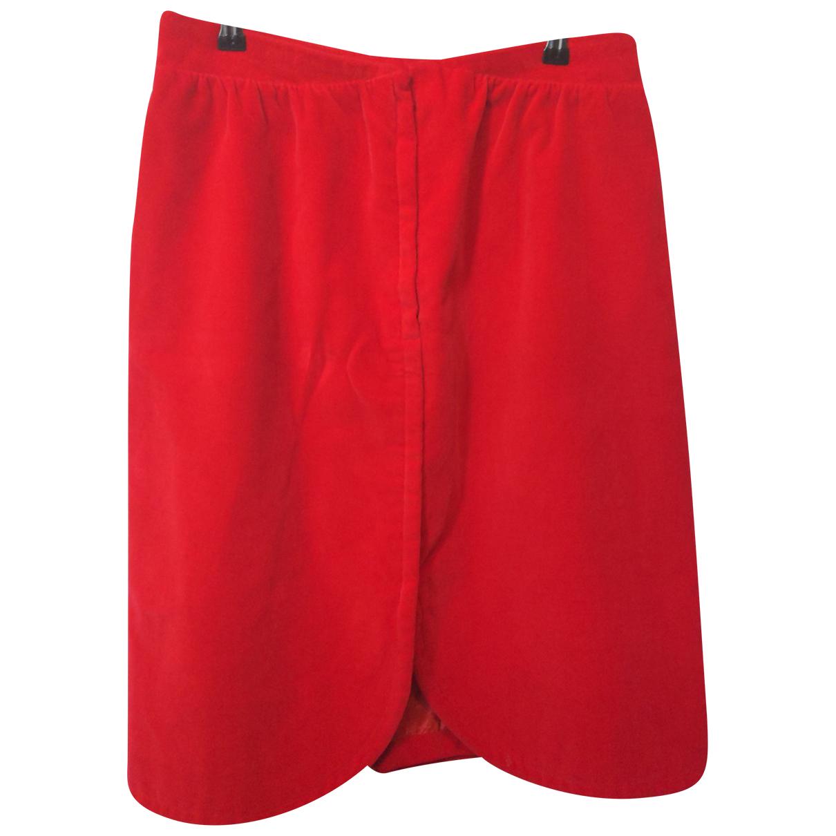 Courreges \N Rocke in  Rot Baumwolle