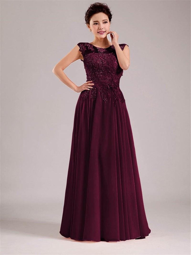 Ericdress Straps Appliques Bridesmaid Dress