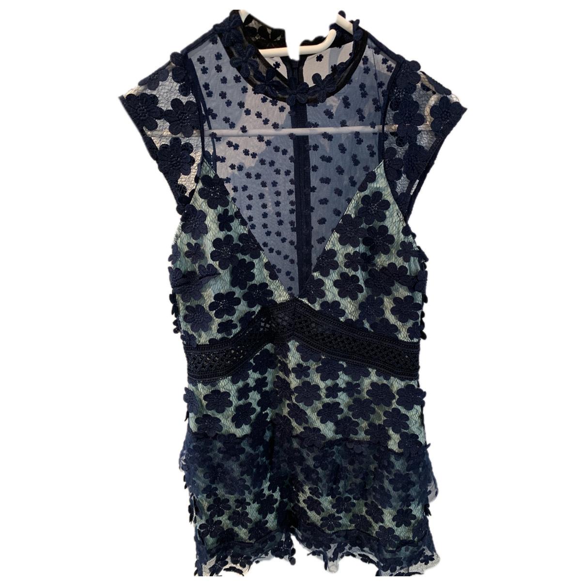Self Portrait \N Blue dress for Women 12 UK