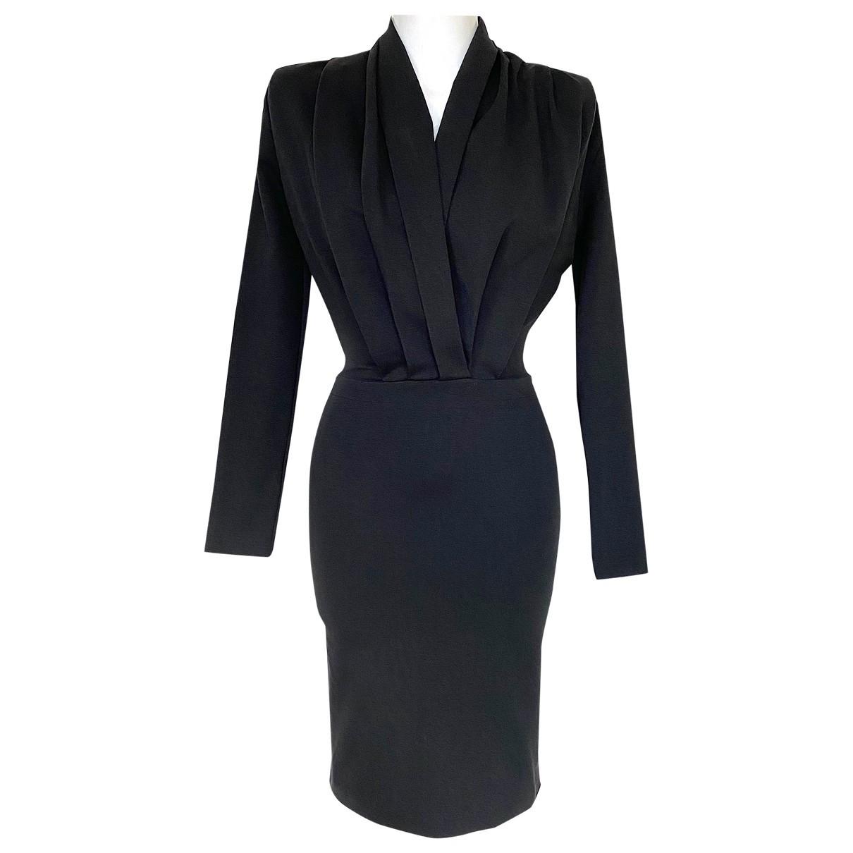 Stella Mccartney \N Black Cotton dress for Women 40 IT