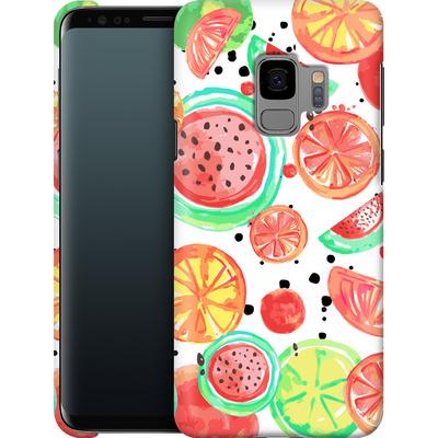 Samsung Galaxy S9 Smartphone Huelle - Fruit Crush von Mukta Lata Barua