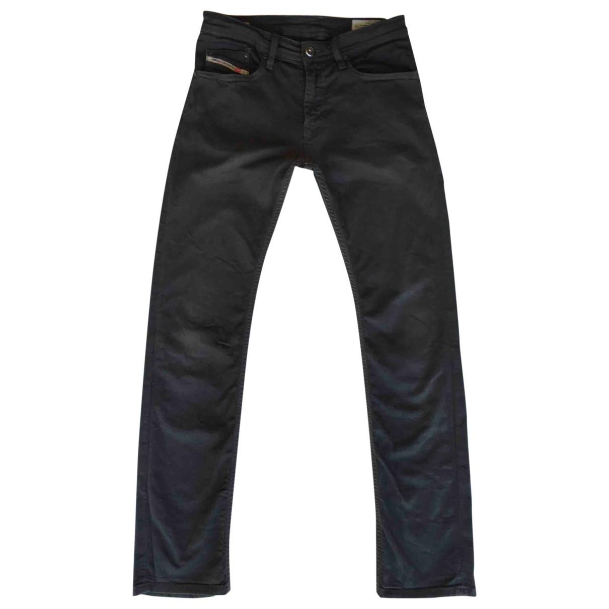 Diesel \N Grey Denim - Jeans Trousers for Kids 12 years - XS FR
