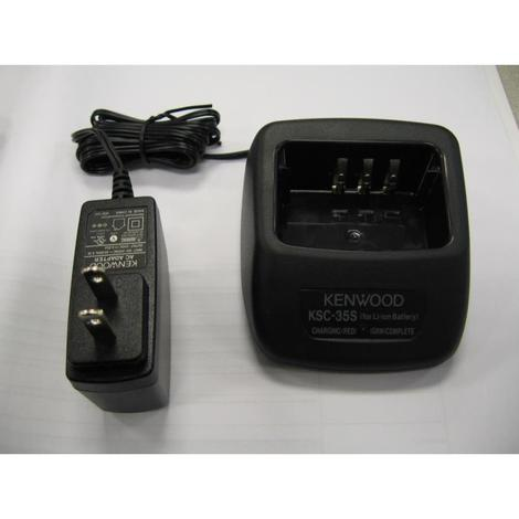 Kenwood Single Unit Charger for the Knb-45L Li-Ion Battery