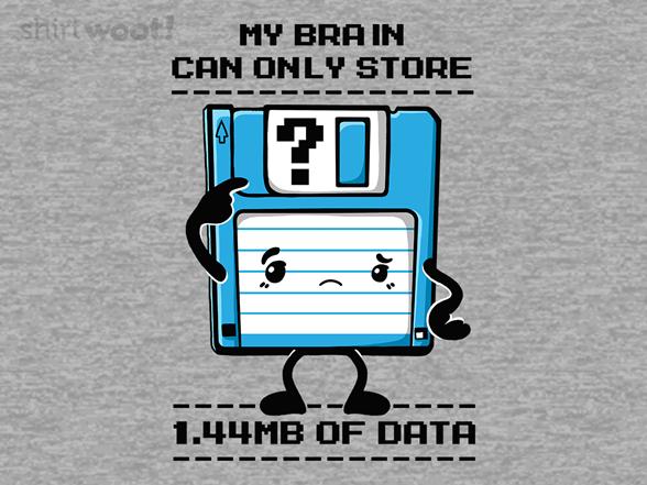 Low Memory T Shirt