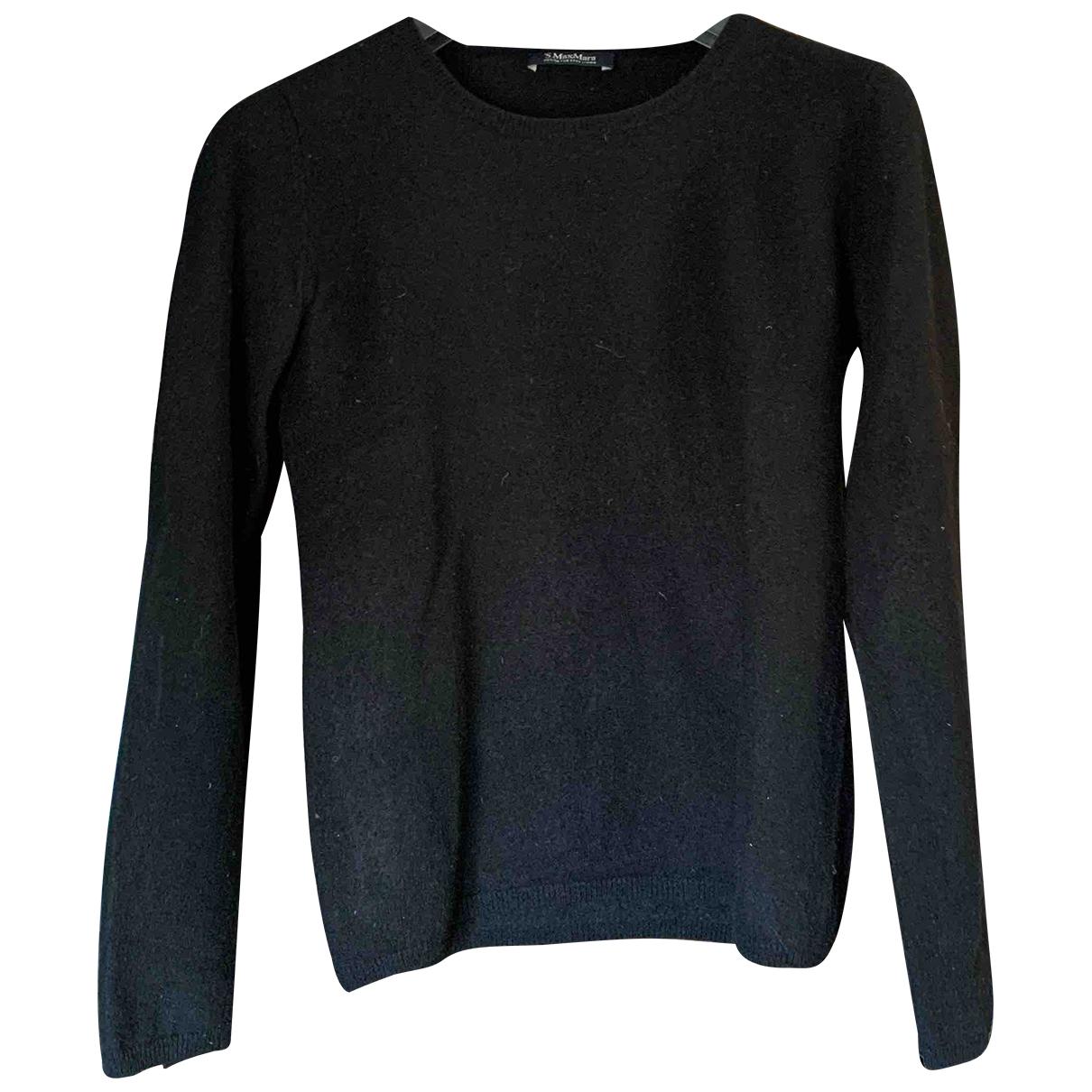 Max Mara s \N Pullover in  Schwarz Wolle