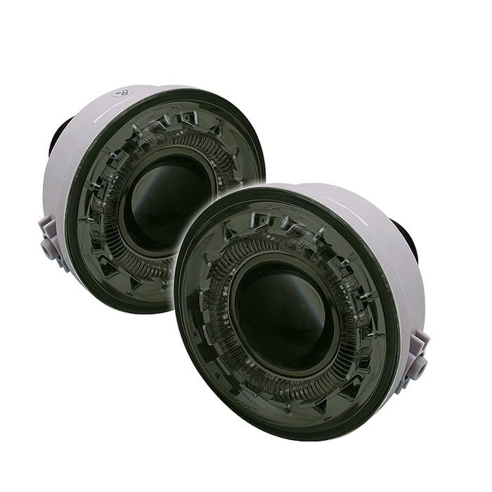 Spyder Auto FL-P-FF15006-HL-SM Smoke Halo Projector Fog Lights with Switch Lincoln Mark LT 06-08