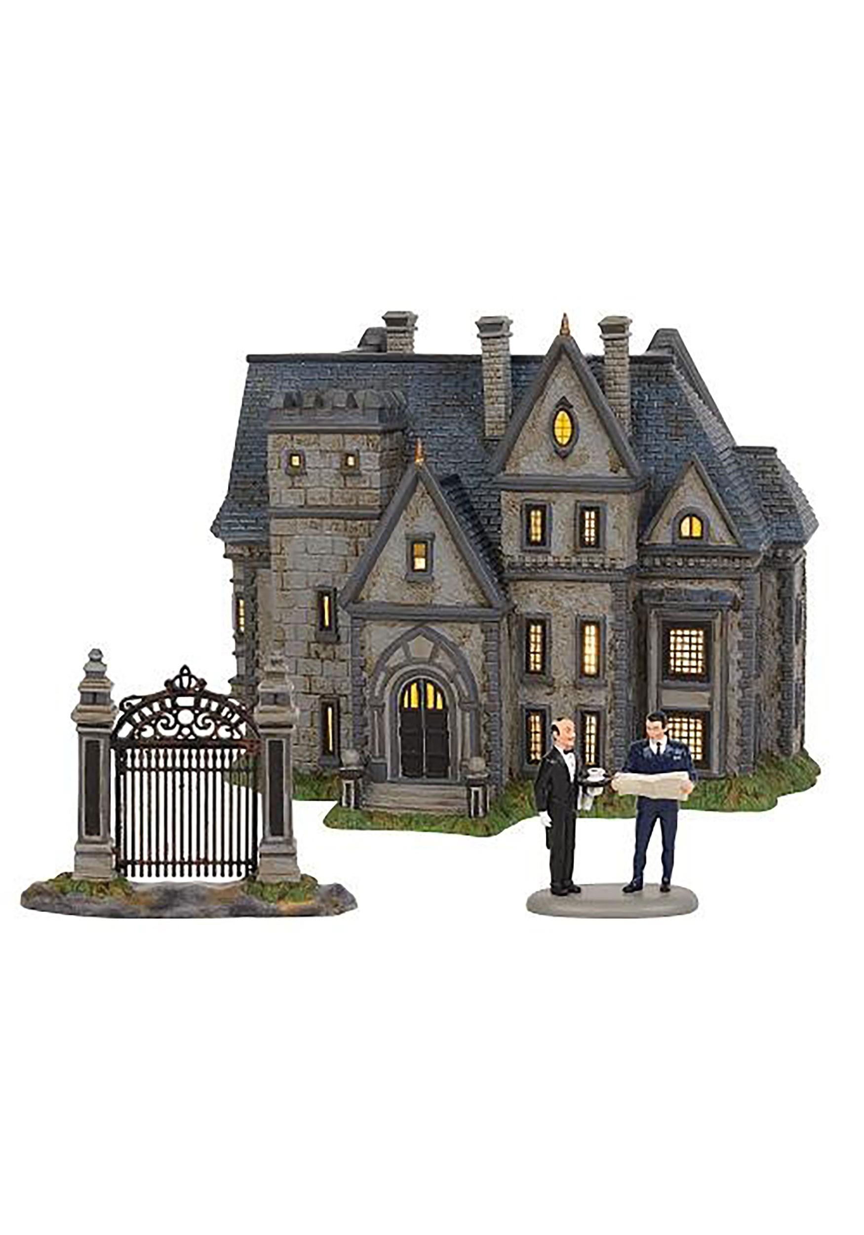 Batman Department 56 Wayne Manor 3-Piece Set