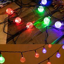 1pc String Light With 40pcs Ball Bulb