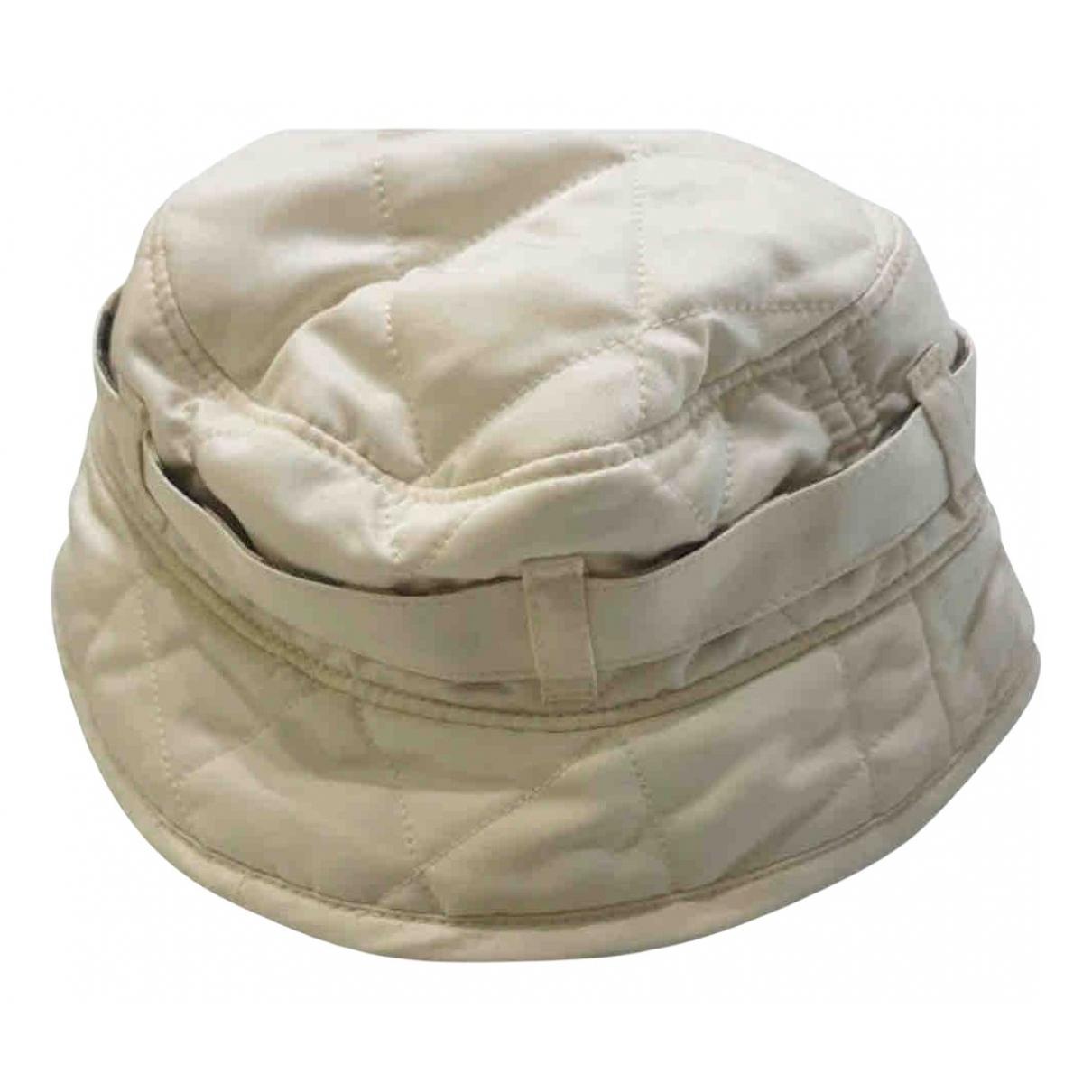 Burberry \N Hut, Muetzen, Handschuhe in  Beige Polyester