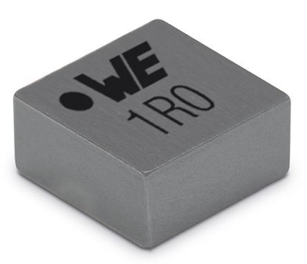 Wurth Elektronik Wurth, WE-MAPI, 4020 Shielded Wire-wound SMD Inductor with a Magnetic Iron Alloy Core, 1 μH Moulded 7.2A Idc (10)