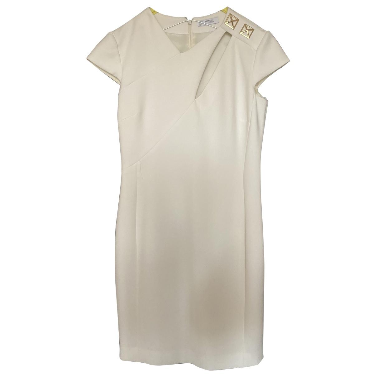 Versace - Robe   pour femme - blanc