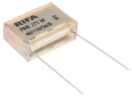 KEMET Paper Capacitor 220nF 275V ac ±10% Tolerance PME271M Through Hole +110°C (5)