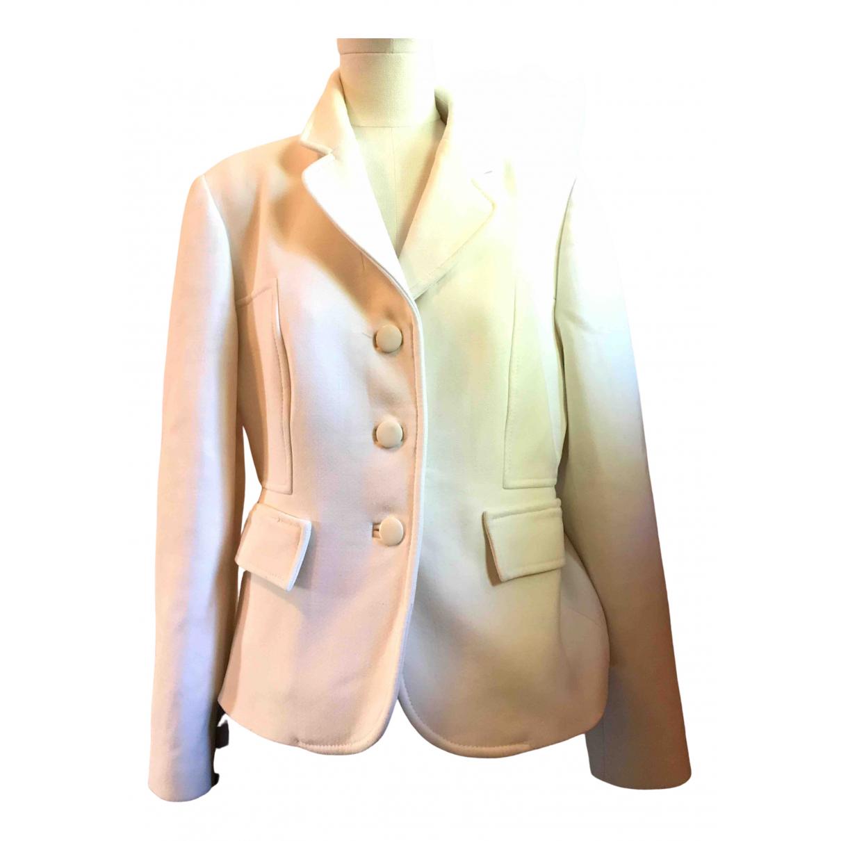 Red Valentino Garavani - Veste   pour femme en coton - blanc