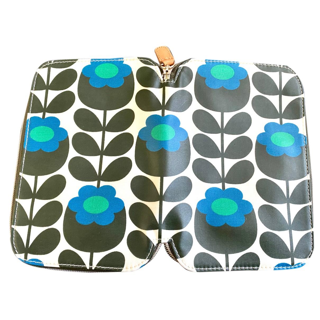Orla Kiely - Petite maroquinerie   pour femme en toile - bleu