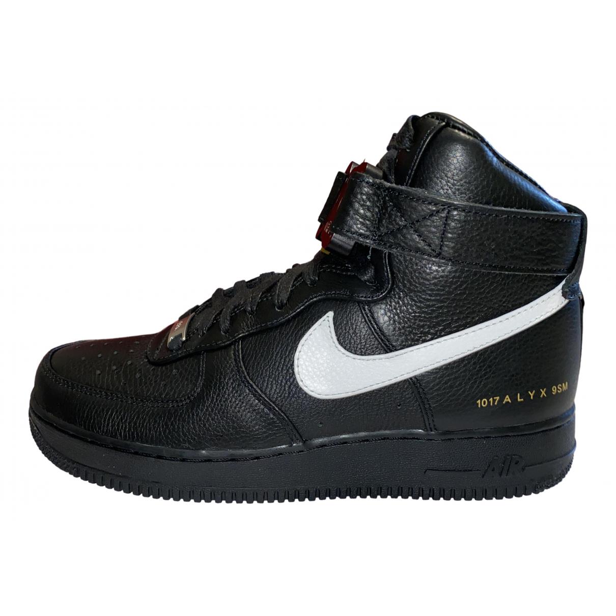 Deportivas Air Force 1 de Cuero Nike X Alyx