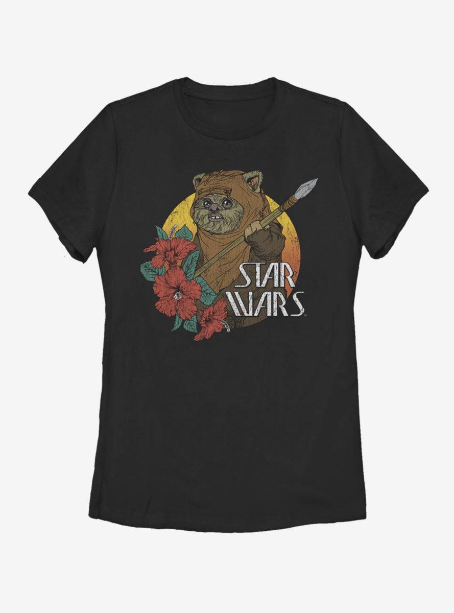 Star Wars Ewok Paradise Womens T-Shirt