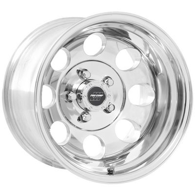 Pro Comp 69 Series Vintage, 15x8 Wheel with 5 on 4.5 Bolt Pattern - Polished - 1069-5865