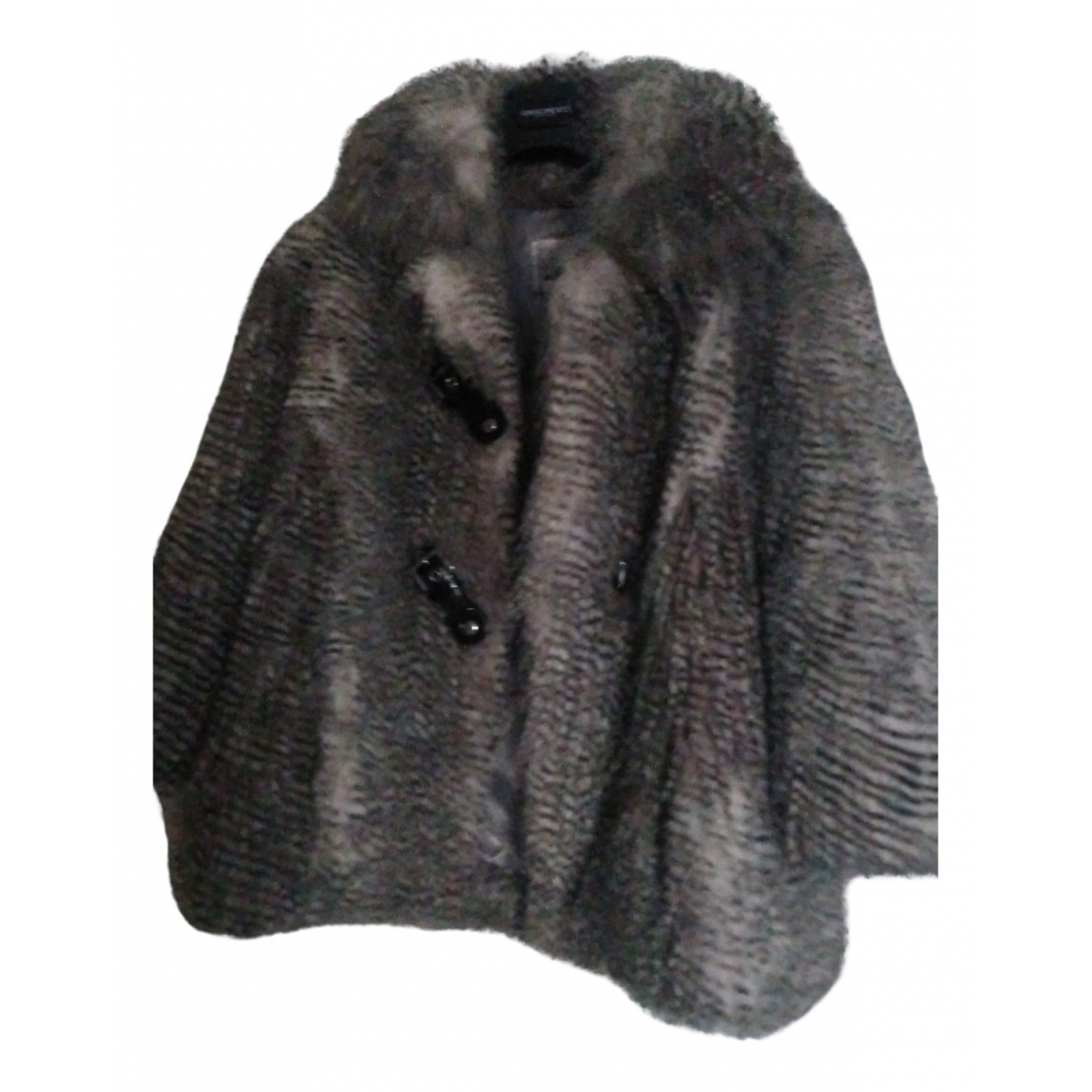 Guess N Grey Faux fur jacket for Women 38 FR