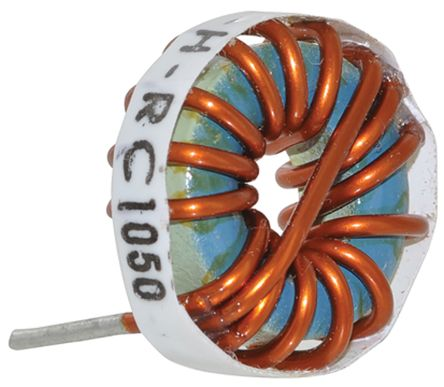 Bourns 220 μH ±15% Radial Inductor, Max SRF:1kHz, 5.8A Idc, 54mΩ Rdc, 2300