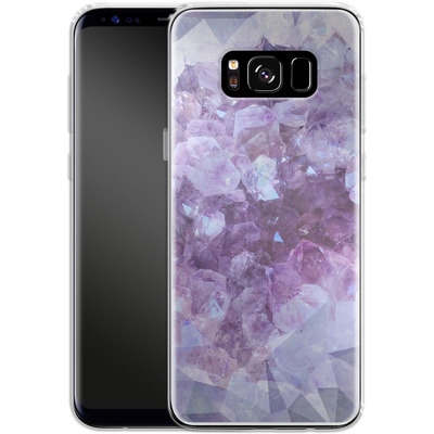 Samsung Galaxy S8 Silikon Handyhuelle - Light Crystals von Emanuela Carratoni