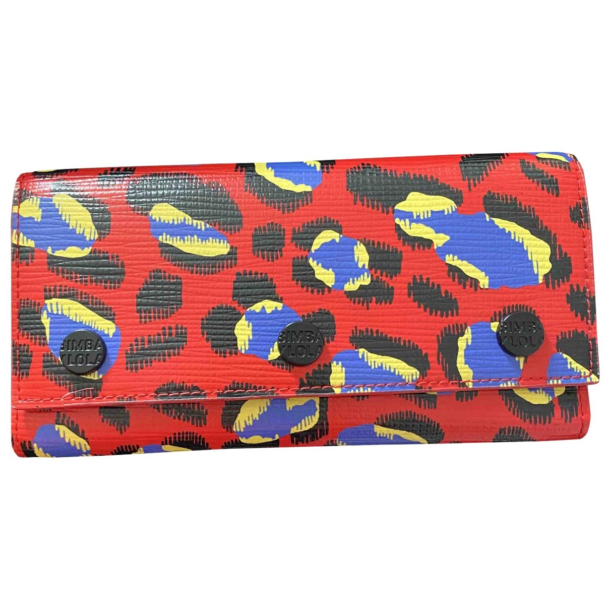 Bimba Y Lola - Portefeuille   pour femme en cuir - rouge