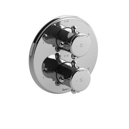 GN88C 4-Way No Share Type Thermostatic/Pressure Balance Coaxial Complete Valve  in