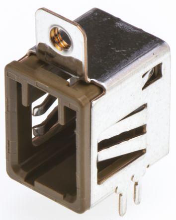 Hirose , GT17, 4 Way, 2 Row, Right Angle PCB Header