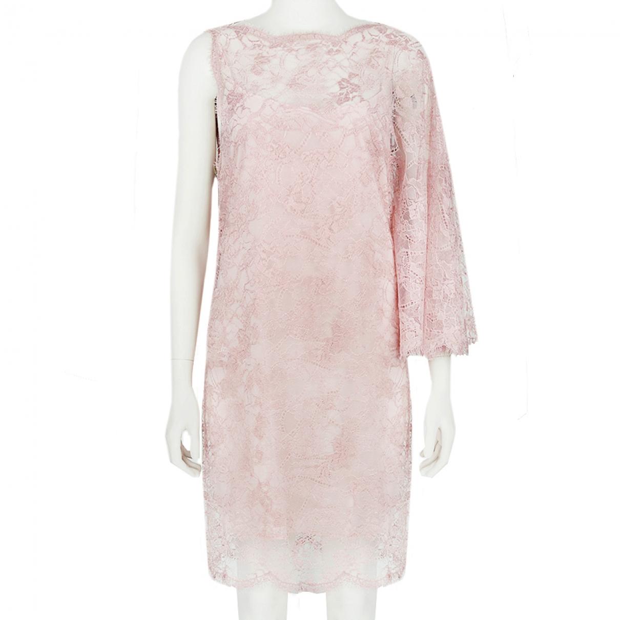 Emilio Pucci \N Kleid in  Rosa Viskose