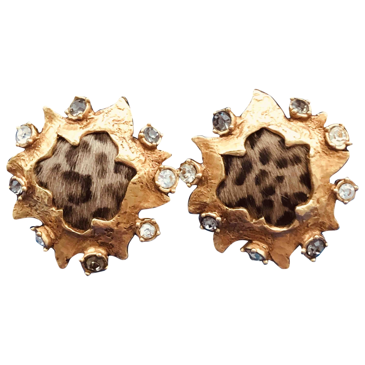 Christian Lacroix \N OhrRing in  Gold Metall