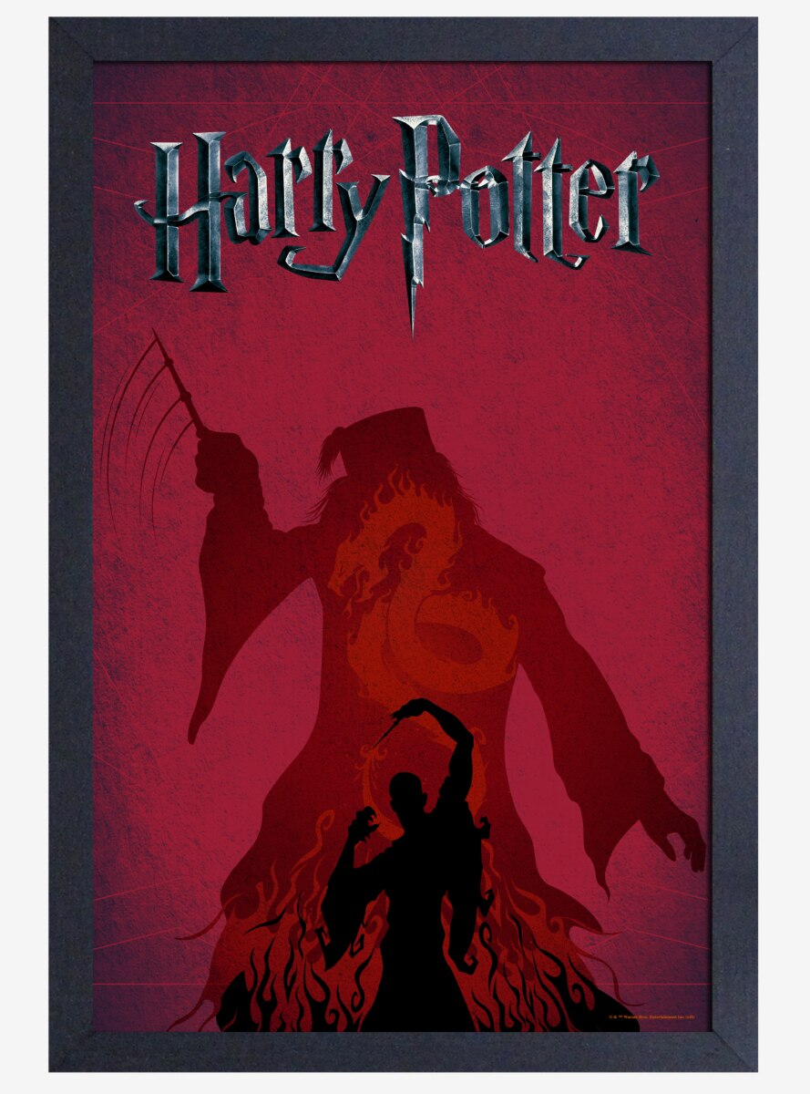 Harry Potter Shadow Poster