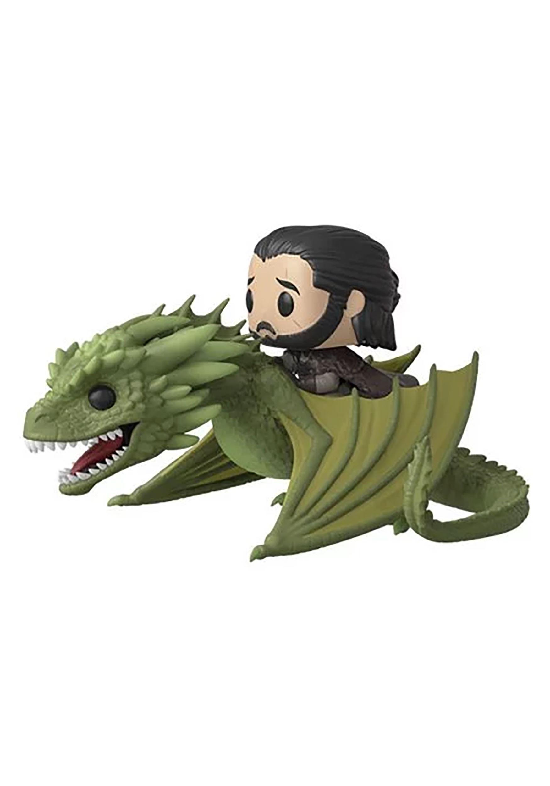 Game of Thrones Season 8- Jon Snow with Rhaegal Pop! TV