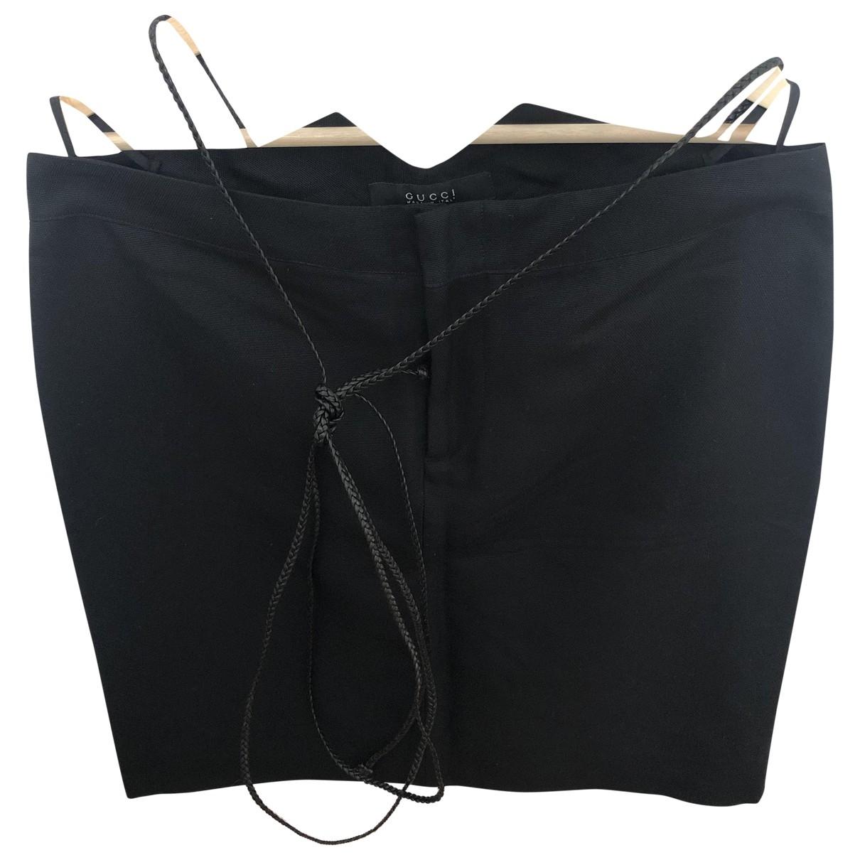 Gucci - Jupe   pour femme en soie - noir