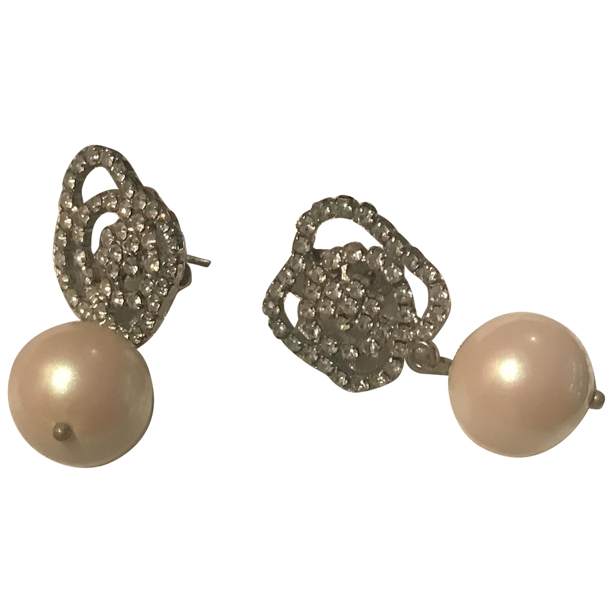Furla \N White Pearl Earrings for Women \N