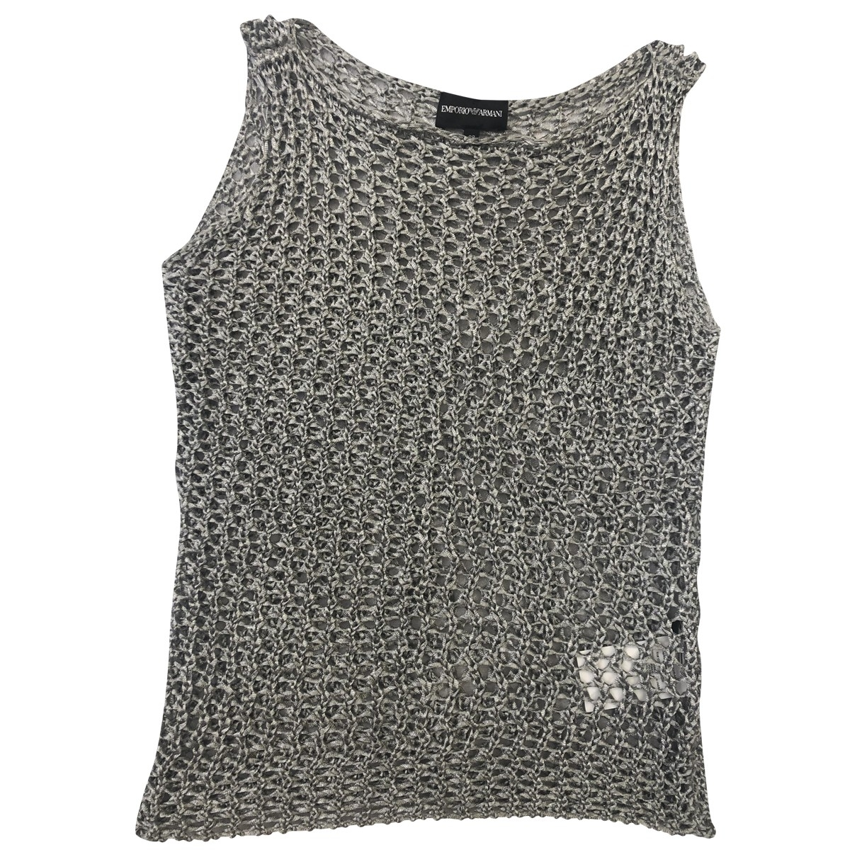 Emporio Armani \N Top in  Silber Polyester