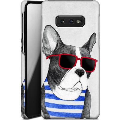 Samsung Galaxy S10e Smartphone Huelle - Frenchie Summer Style von Barruf
