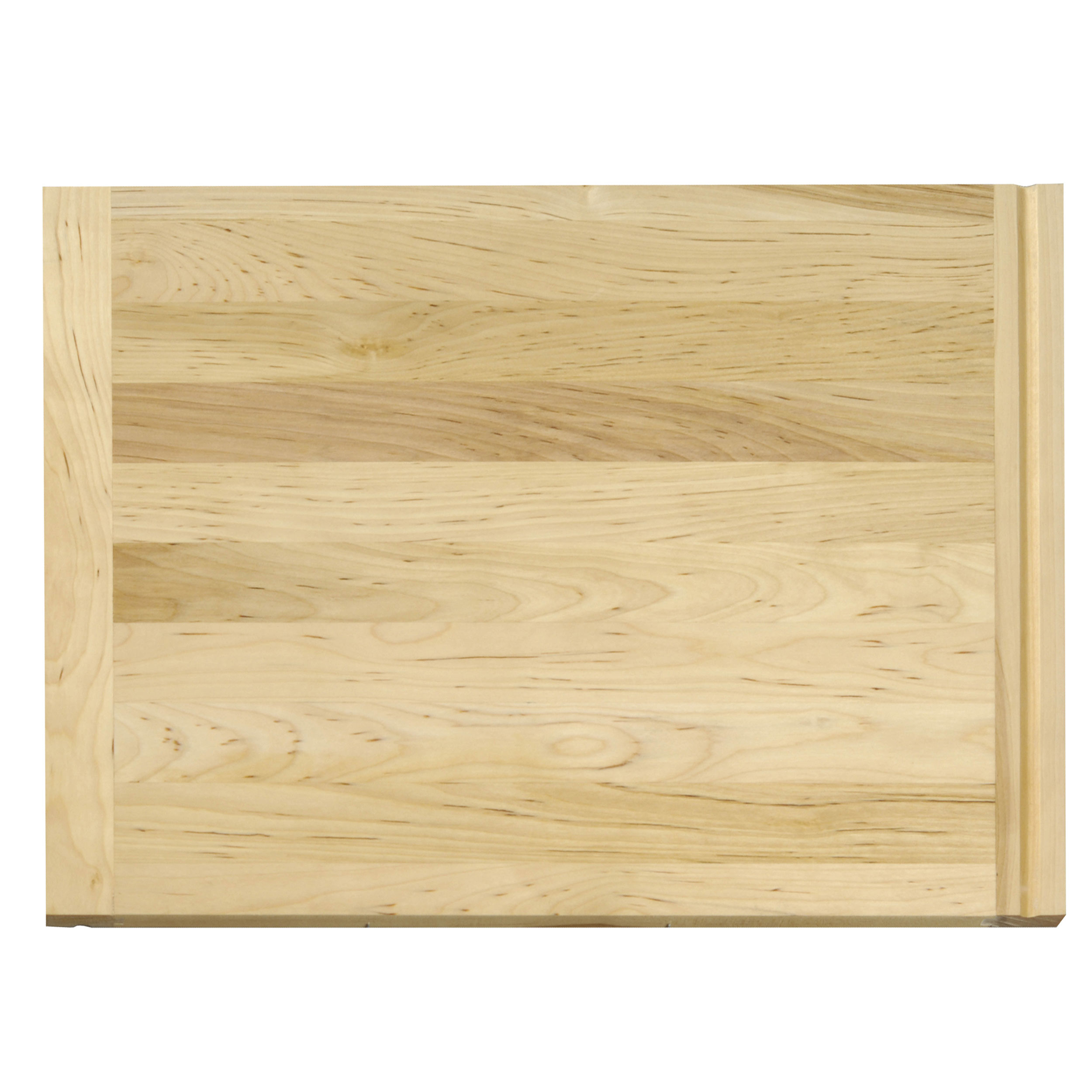 16 X 22 inch X 3/4 inch thick Hardwood Cutting Board with Routed Pull-Out