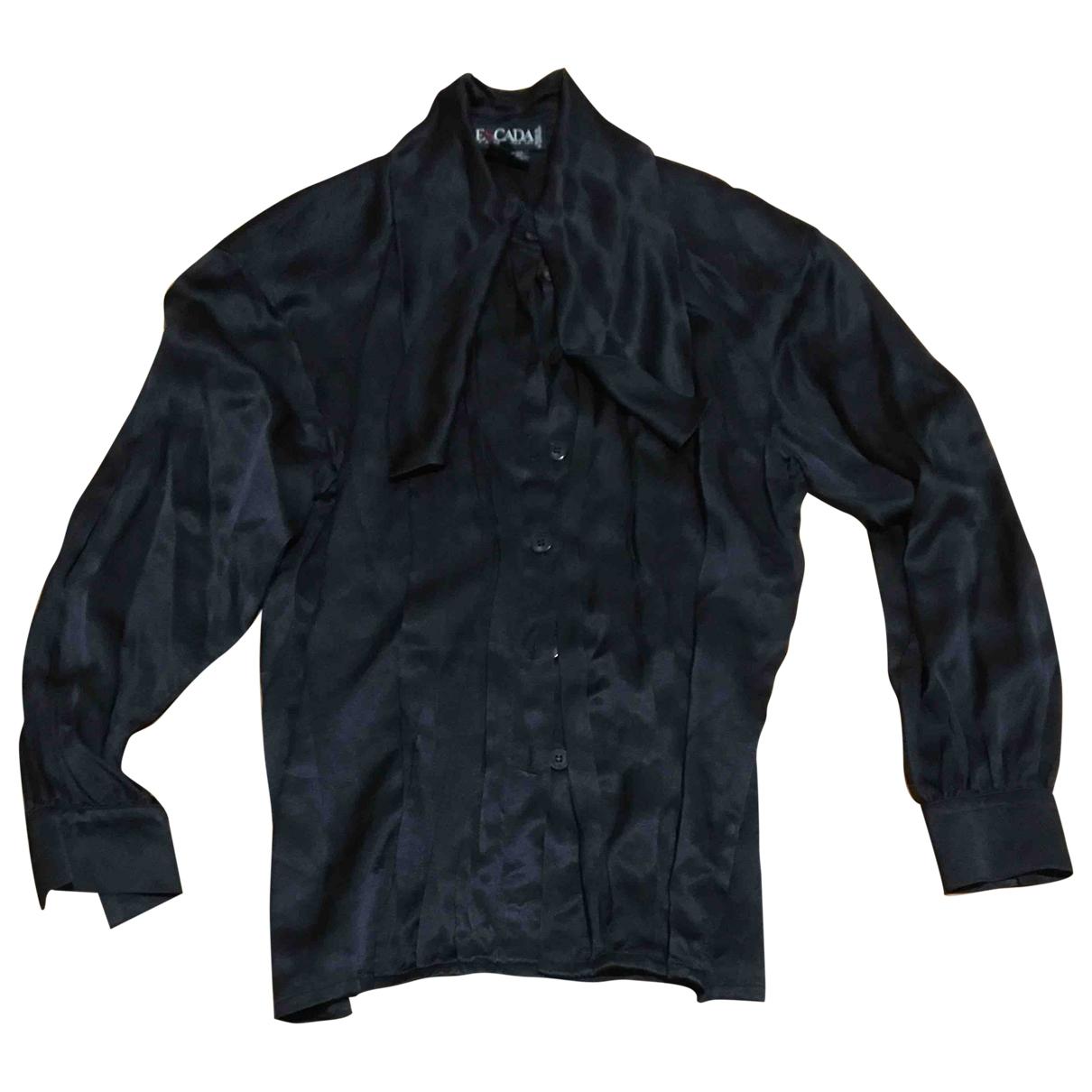 Escada \N Black Silk  top for Women M International
