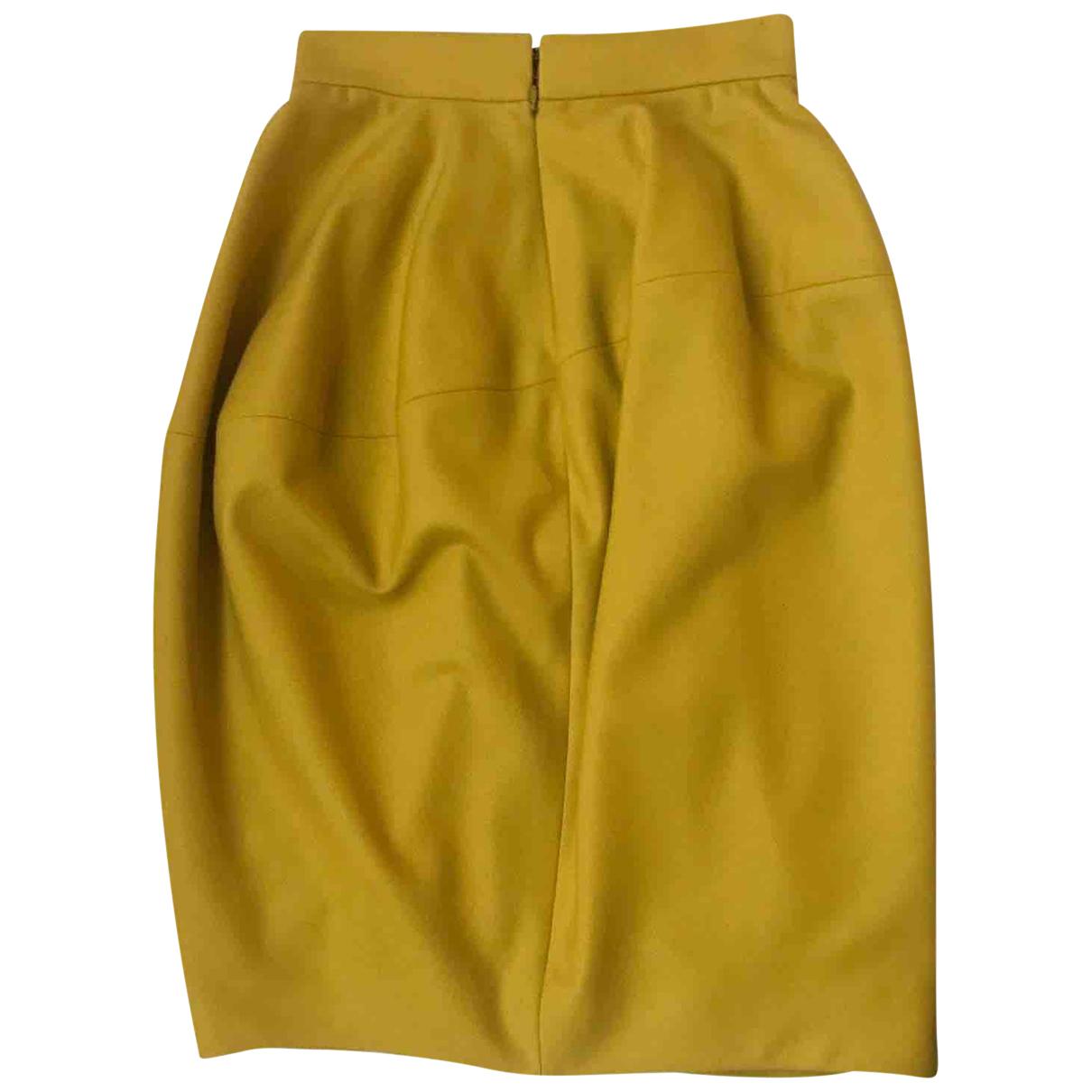 Yves Saint Laurent \N Rocke in  Gelb Wolle