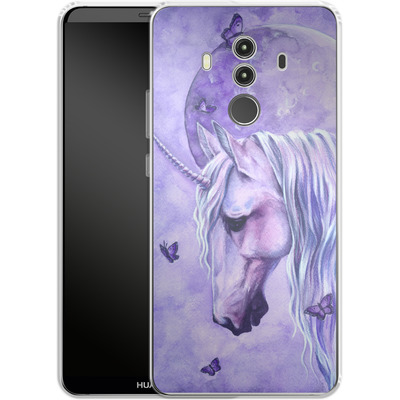 Huawei Mate 10 Pro Silikon Handyhuelle - Moonlit Magic von Selina Fenech