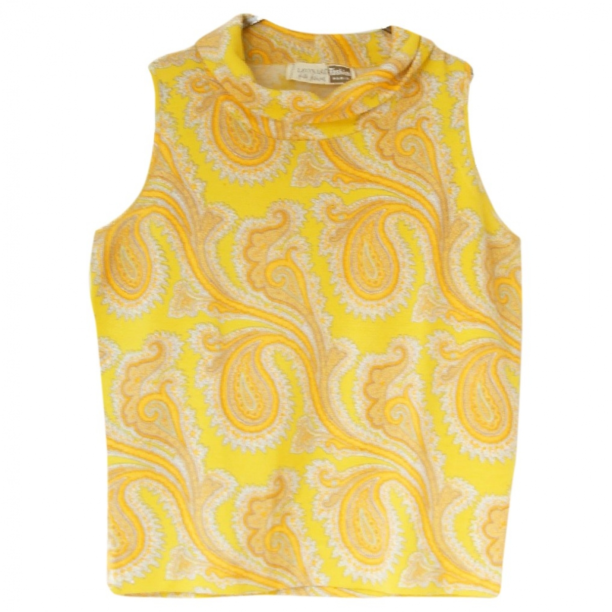 Leonard \N Yellow Wool  top for Women 36 FR