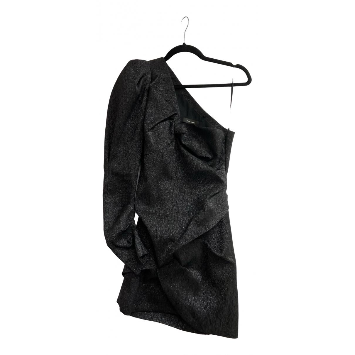 Isabel Marant \N Kleid in  Metallic Polyester
